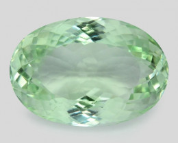 13.43 Cts Natural Green Amethyst Loose Gemstone