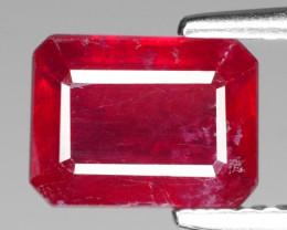 2.38 Cts Natural Red Ruby BURMA  Loose Gemstone