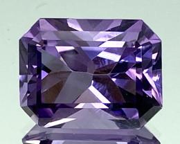 7.87Ct Amethyst Excellent Asscher Cut Top Quality Gemstone.ATF 48