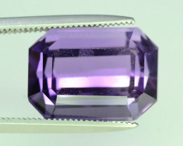 AAA Color 6.50 ct Untreated Amethyst~AS