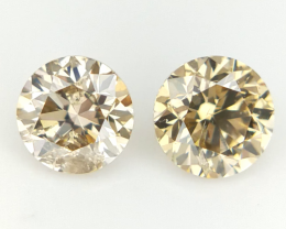 2/0.32 CTS , Natural Round Diamonds , Diamonds For Jewelry