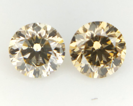 2/0.282 CT , Round Fancy Diamonds , Fancy Diamonds for Jewelry