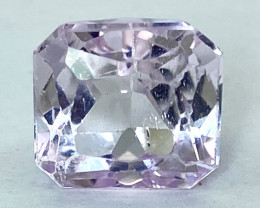 4.31Ct Kunzite Top Cut Top Luster Quality Gemstone.From Pakistan.PKZ 11