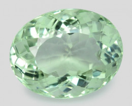 11.07 Cts Natural Green Amethyst Loose Gemstone