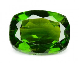 1.33 Cts Natural Green Color Chrome Diopside Loose Gemstone