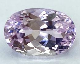 7.05Ct Kunzite Top Cut Top Luster Quality Gemstone.From Pakistan.PKZ 12