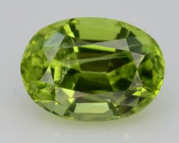 Apple Green 1.20 Ct Natural Peridot