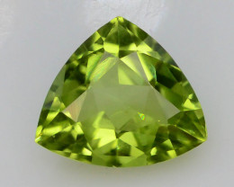 Apple Green 0.90 Ct Natural Peridot
