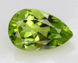 Apple Green 1.10 Ct Natural Peridot