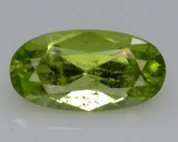 Apple Green 0.95 Ct Natural Peridot