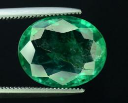 Top Color & Clarity 4.00 ct Emerald~Zambia SJ