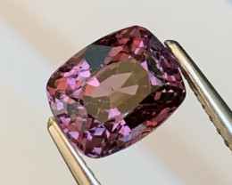 2.07 Cts Burma Fine Quality Purplish Pink Spinel No heat No Treat