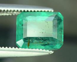 Top Color & Clarity 1.55 ct Emerald~Zambia SJ