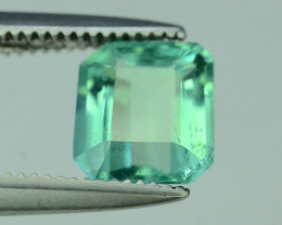 Top Color & Clarity 0.90 ct Emerald~Zambia SJ