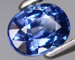 0.91 ct 100% Natural Earth Mined Cornflower Blue  Sapphire Sri Lanka
