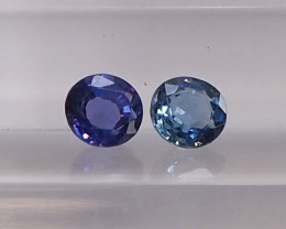 0.83ct natural unheated sapphire