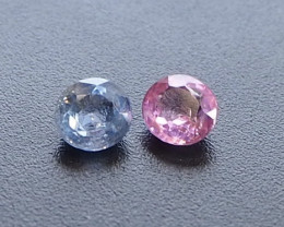 1.29ct unheated sapphires