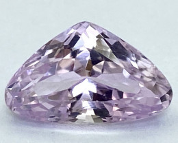 5.46Ct Kunzite Top Cut Top Luster Quality Gemstone.From Pakistan.PKZ 19