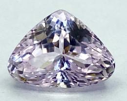 6.07Ct Kunzite Top Cut Top Luster Quality Gemstone.From Pakistan.PKZ 21