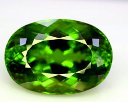 Peridot, 39.70 Ct Top Quality Oval Shape Peridot Gemstone