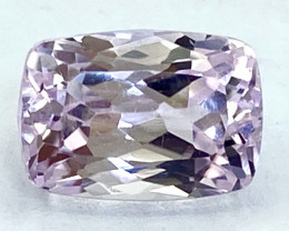 4.56Ct Kunzite Top Cut Top Luster Quality Gemstone.From Pakistan.PKZ 29