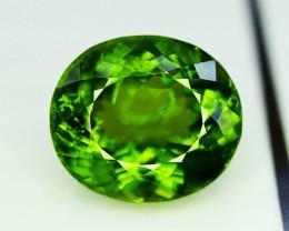 Peridot, 43.75 Ct Top Quality Oval Shape Peridot Gemstone