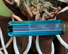 41.88 Cts AAA Grade Bright Blue Indicolite Tourmaline Flawless