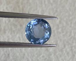 1.84ct natural unheated blue sapphire