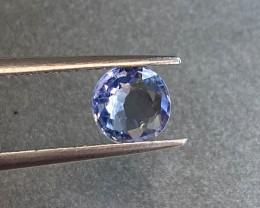 1.21ct natural unheated blue sapphire