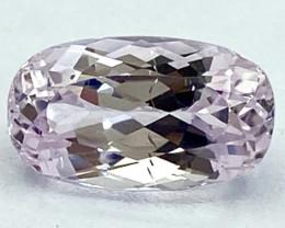 5.63Ct Kunzite Top Cut Top Luster Quality Gemstone.From Pakistan.PKZ 31