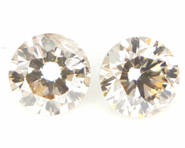 0.265 cts, Round Brilliant Cut , Brown Colour Diamond