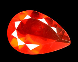 0.66 Cts Very Rare Unheated Mexican Fire Opal Loose Gemstone