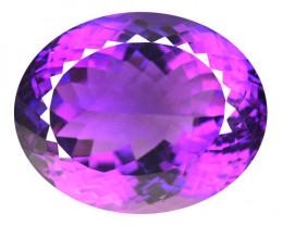 27.28 Cts Natural Purple Amethyst Loose Gemstone