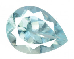 Blue Aquamarine 1.33 Cts Un Heated Natural Loose Gemstone