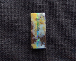 6.5cts High Quality Boulder Opal Gemstone Cabochon, Strong Fire, Rare  Opal