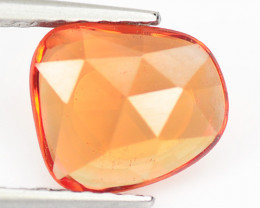 1.09 Cts Amazing Rare Natural Fancy Orange Sapphire Loose Gemstone