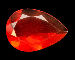 0.95 Cts Very Rare Unheated Mexican Fire Opal Loose Gemstone