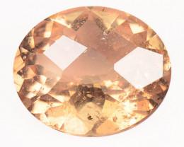 3.05 Cts Amazing Rare Natural Pink Color Morganite Gemstone