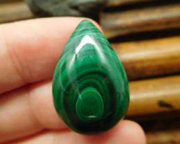Natural stone malachite cabochon (G2387)