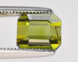 1.85Carat Natural  Tourmaline Gemstone
