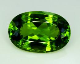 Peridot, 34.00 Ct Top Quality Oval Shape Peridot Gemstone