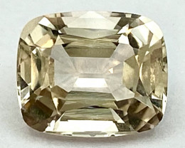 5.68 Ct Topaz Excellent Asscher Cutting Top Luster From Pakistan. GTP 30