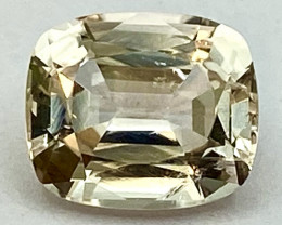 5.60 Ct Topaz Excellent Asscher Cutting Top Luster From Pakistan. GTP 33