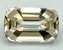 3.84 Ct Topaz Excellent Asscher Cutting Top Luster From Pakistan. GTP 38
