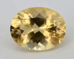 Yellow Color 1.55 Ct Natural Heliodor ~ BERYL