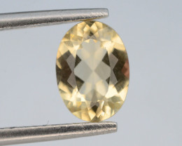 1.0 Ct Natural Heliodor AAA Grade Yellow Color