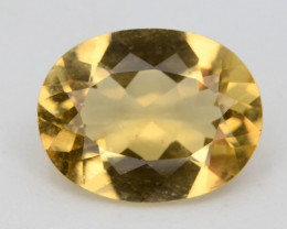 1.70 Ct Natural Heliodor AAA Grade Yellow Color