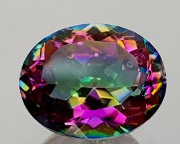 2.44Crt Mystic Quartz Natural Gemstones JI14