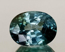 2.75Crt Blue Zircon Natural Gemstones JI14