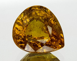 2.73Crt Yellow Tourmaline Natural Gemstones JI14